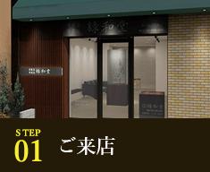 STEP1 ご来店
