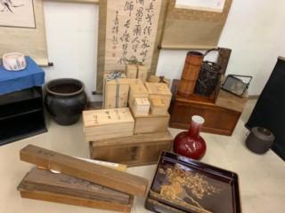 茶器・壺などの骨董品類