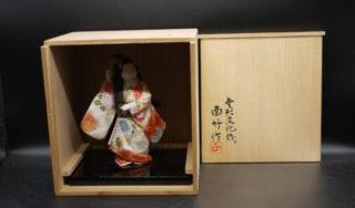 四世 面竹 岡本正太郎 作 人形