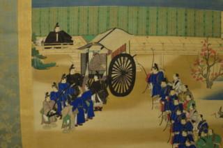 寛治三年 春日祭濫觴絵図