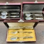ジョージ ジェンセン『銀製ペアスプーン カトラリー』をお買取り致しました。