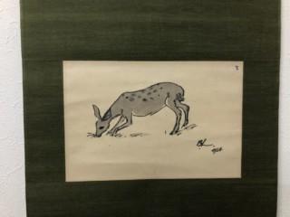 バーナードリーチ 鹿