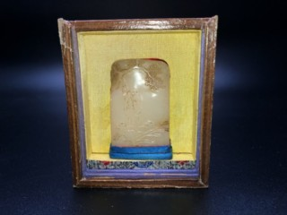 中国美術品 寿老人彫 白玉印材 のお買い取り