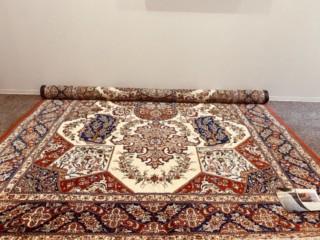 『ペルシャ絨毯 クム産 シルク100%』をお買取り致しました
