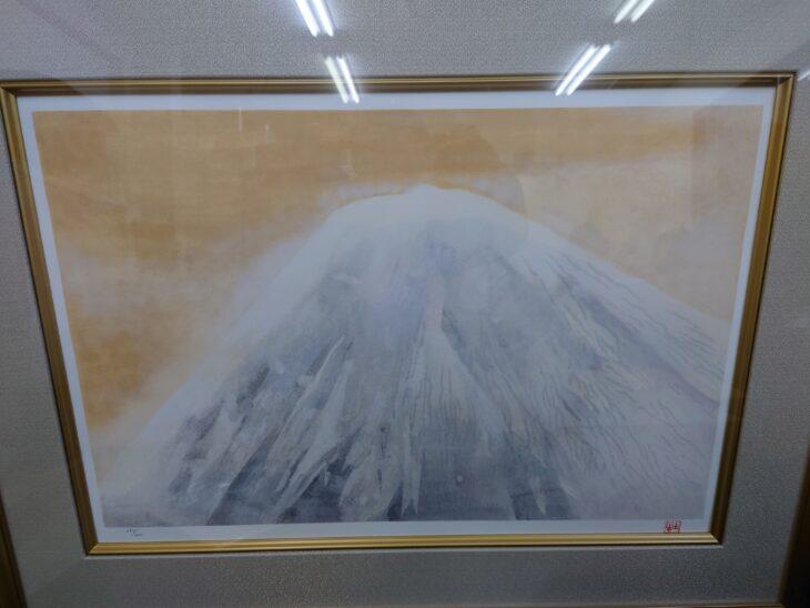奥村 土牛「富士宮の富士」